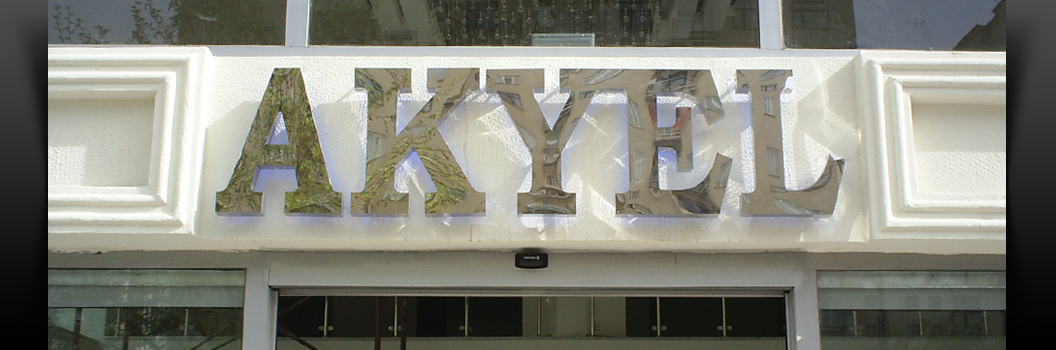 Backlited Stainless Steel Channel Letters